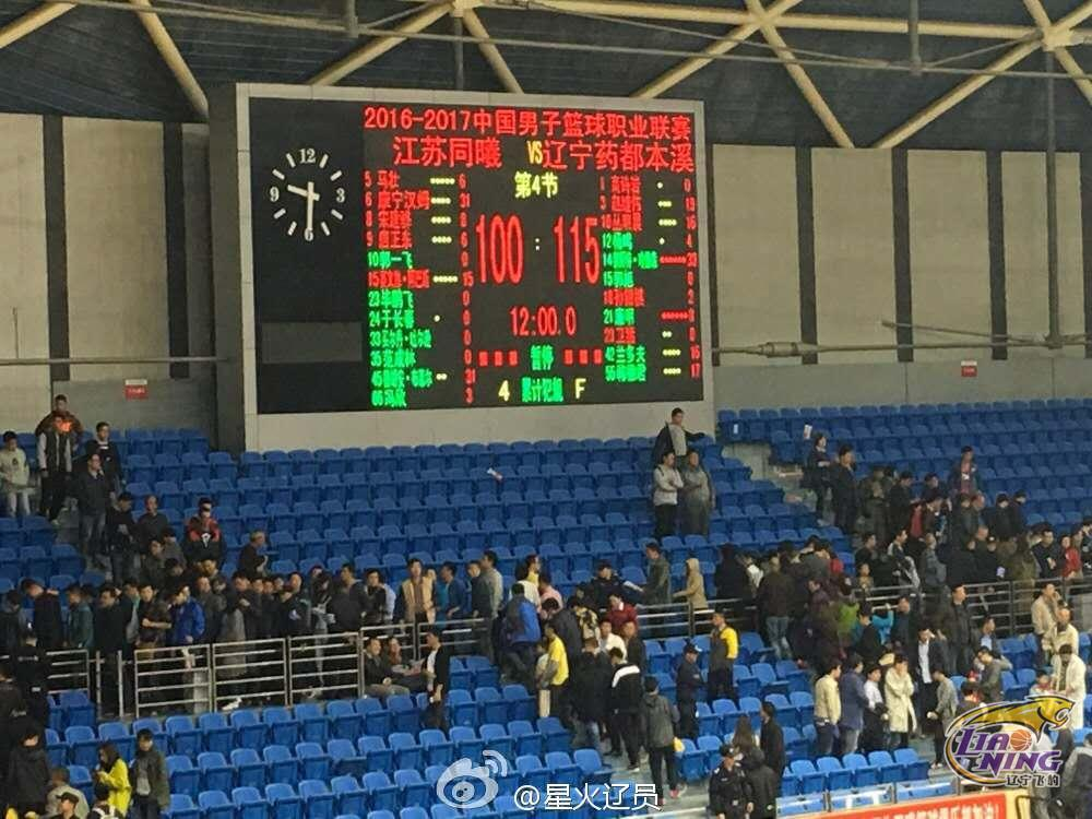 2016-2017CBA 第1轮 辽宁飞豹十佳球