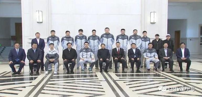 陈求发唐一军夏德仁28日会见辽宁男篮